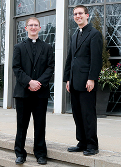Two priests to be ordained May 26